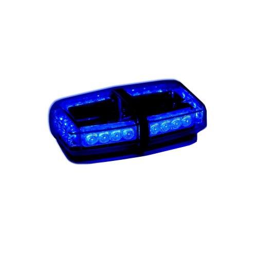 Blue led mini light bar watt roof strobe mini lightbar aloadofball Image collections