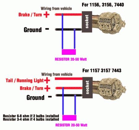 images of brake load resistor blinker 50w 6 ohm led rh autodirectsave com A Light Bulb Socket Ground Wiring Marine Light Socket Wiring Diagram