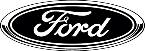black ford logo. black ford logo r