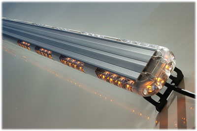 Ex razor 50 led light bar unscewing the end cap and sliding the lights out aloadofball Image collections